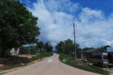 Dòng điện thay đổi vùng biên tỉnh Kon Tum