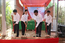 Huy động các nguồn lực xây nhà Đại đoàn kết, giúp hộ nghèo an cư, lạc nghiệp