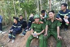 Hà Tĩnh cơ bản khống chế được đám cháy rừng ở Hương Sơn