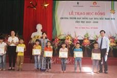 Hỗ trợ học sinh, sinh viên hoàn cảnh khó khăn tại Thanh Hóa