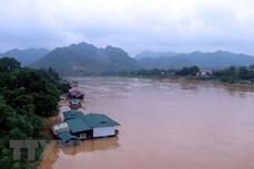 Vùng núi Bắc Bộ mưa to, nước sông Lô lên nhanh, cảnh báo lũ quét, sạt lở đất