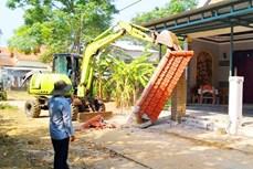 Quảng Nam: Hàng trăm hộ dân tự nguyện hiến đất xây dựng cơ sở hạ tầng