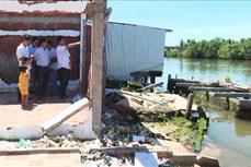Bạc Liêu: Báo động tình trạng sạt lở bờ sông, bờ biển mùa mưa bão