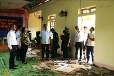 Sơn La khắc phục thiệt hại do ảnh hưởng của động đất