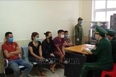 Đồn Biên phòng Si Ma Cai đã bắt giữ, cách ly các đối tượng nhập cảnh trái phép về Việt Nam