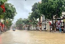 Mưa lũ tại Sơn La làm nhiều đoạn đường bị sạt lở