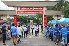 Kỳ thi tốt nghiệp THPT 2020: Các thí sinh ở Điện Biên hoàn thành bài thi dự bị môn Địa lý