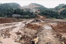 Liên tiếp xảy ra sự cố vỡ đập chắn tại Mỏ khai thác quặng sắt núi 300, Yên Bái