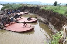 Biến đổi khí hậu: Trên 60 tỷ đồng chống sạt lở ven sông Krông Nô