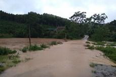 Mưa lớn gây nhiều thiệt hại ở huyện Lục Yên
