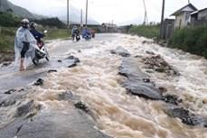 Lai Châu: Mưa lớn kéo dài gây sạt núi, một người tử vong