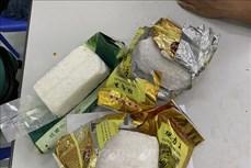 Điện Biên: Bắt quả tang đối tượng nữ vận chuyển bán trái phép 4 bánh heroin