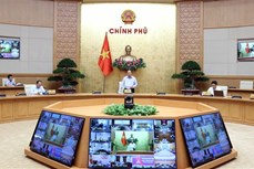 Thông báo Kết luận của Thủ tướng Chính phủ Nguyễn Xuân Phúc tại cuộc họp Thường trực Chính phủ về phòng, chống dịch COVID-19