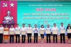 Phú Thọ dành hơn 13.000 tỷ đồng xây dựng nông thôn mới