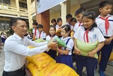 Kiên Giang hỗ trợ gạo cho học sinh có hoàn cảnh khó khăn