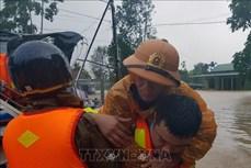 Mưa lũ tại Quảng Trị làm ngập lụt 82 xã, phường và thị trấn, 2 người thương vong