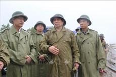 Chia sẻ với người dân bị ảnh hưởng bởi lũ lụt ở tỉnh Quảng Trị