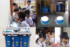 Sóc Trăng: Quan tâm đầu tư hệ thống lọc nước cho các trường học vùng sâu, vùng hạn mặn