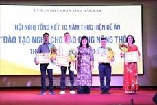 """Hiệu quả thiết thực từ đề án """"Đào tạo nghề cho lao động nông thôn"""" tại Đắk Lắk"""