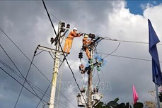 Quảng Nam khôi phục cấp điện đến các xã cuối cùng bị ảnh hưởng bão lũ