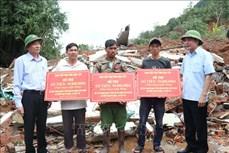 Đắk Lắk: Hỗ trợ các gia đình có nhà bị sập hoàn toàn do mưa lũ