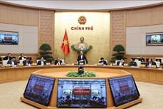 Thông cáo báo chí Phiên họp Chính phủ thường kỳ tháng 11/2020