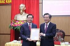 Xây dựng Đảng và hệ thống chính trị: Công bố quyết định của Ban Bí thư về công tác cán bộ tại tỉnh Bắc Kạn