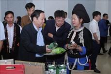 Lai Châu công bố sản phẩm OCOP năm 2020