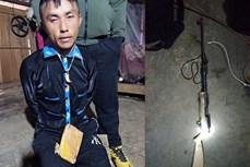 Điện Biên: Bắt giữ đối tượng mua bán trái phép chất ma tuý có tàng trữ súng tự chế