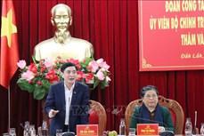 Phó Chủ tịch Thường trực Quốc hội Tòng Thị Phóng thăm và làm việc tại Đắk Lắk