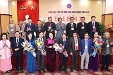 Chủ tịch Quốc hội Nguyễn Thị Kim Ngân dự Đại hội đại biểu toàn quốc Liên hiệp các Hội Văn học nghệ thuật Việt Nam