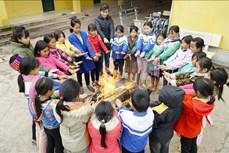 Các huyện biên giới tỉnh Điện Biên chủ động phòng, chống rét cho học sinh