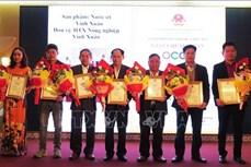 Thừa Thiên - Huế trao chứng nhận cho 25 sản phẩm OCOP