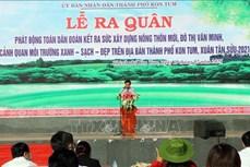 Phấn đấu đưa thành phố Kon Tum đạt chuẩn nông thôn mới vào năm 2023