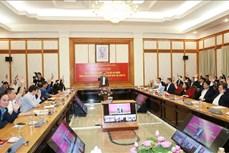 Văn phòng Trung ương Đảng giới thiệu 5 đồng chí ứng cử đại biểu Quốc hội khóa XV