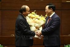 Kỳ họp thứ 11, Quốc hội khóa XIV: 446 đại biểu tán thành thông qua Nghị quyết về việc miễn nhiệm Thủ tướng Chính phủ