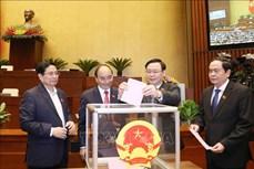 Kỳ họp thứ 11, Quốc hội khóa XIV: Thực hiện quy trình bầu Phó Chủ tịch nước, một số Ủy viên Ủy ban Thường vụ Quốc hội