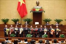 Kỳ họp thứ 11, Quốc hội khóa XIV: Miễn nhiệm chức vụ Phó Thủ tướng Chính phủ và 12 bộ trưởng, trưởng ngành