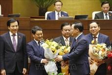 Kỳ họp thứ 11, Quốc hội khóa XIV: 12 bộ trưởng, trưởng ngành được Quốc hội phê chuẩn bổ nhiệm