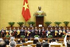 Kỳ họp thứ 11, Quốc hội khóa XIV: Quốc hội phê chuẩn bổ nhiệm Phó Thủ tướng Chính phủ Lê Minh Khái và Lê Văn Thành