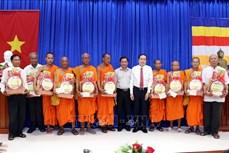 Phó Chủ tịch Thường trực Quốc hội Trần Thanh Mẫn chúc Tết Chôl Chnăm Thmây tại Sóc Trăng