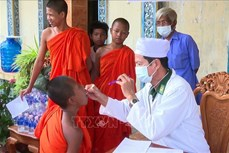 Đồng bào Khmer đón Tết Chôl Chnăm Thmây: Đề cao tinh thần chống dịch COVID-19