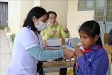 Kon Tum là tỉnh đầu tiên ở Tây Nguyên hoàn thành tiêm vaccine phòng bệnh bạch hầu