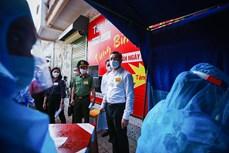 Hòa Bình diễn tập bầu cử đảm bảo an toàn phòng, chống dịch COVID-19