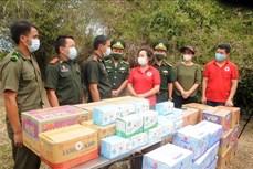 Dịch COVID-19: Động viên các cán bộ, chiến sỹ Biên phòng bám trụ khu vực biên giới Việt -Lào