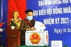 Cử tri dân tộc thiểu số Nghệ An gửi trọn niềm tin trong từng lá phiếu