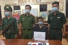 Bắt đối tượng Tòng Văn Ánh mua bán trái phép chất ma túy ở khu vực biên giới
