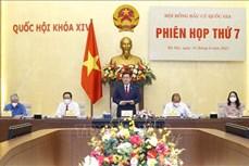Chủ tịch Quốc hội Vương Đình Huệ chủ trì Phiên họp thứ 7 Hội đồng Bầu cử quốc gia