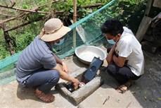 Khó khăn đưa nước sinh hoạt lên các bản vùng cao biên giới Lai Châu