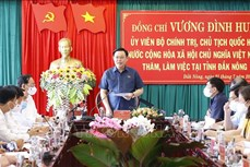 Chủ tịch Quốc hội Vương Đình Huệ: Đắk Nông phát huy nội lực cùng khát vọng phát triển